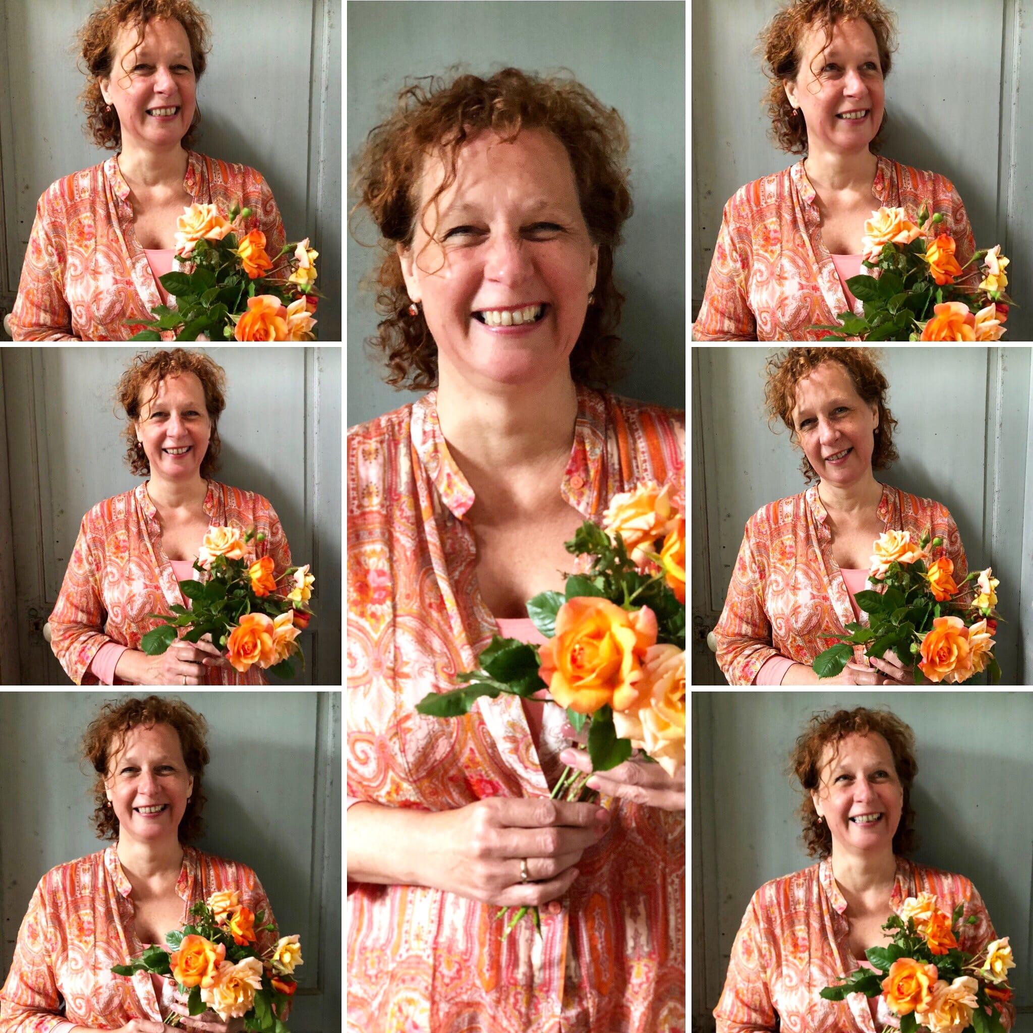 collage van foto's